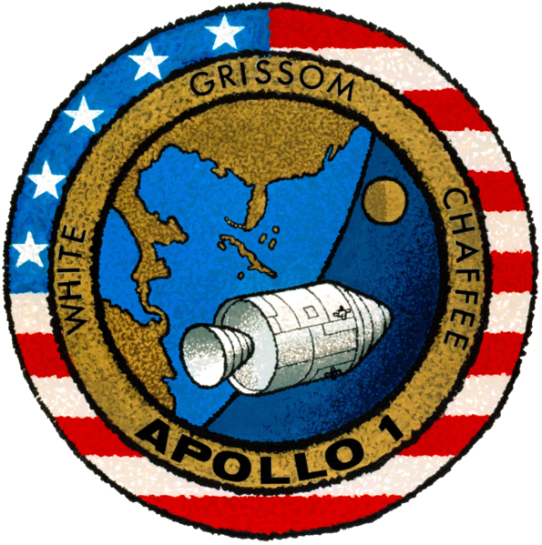 595px-Apollo_1_patch